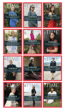 12 TIME covers commemorating fearless women!