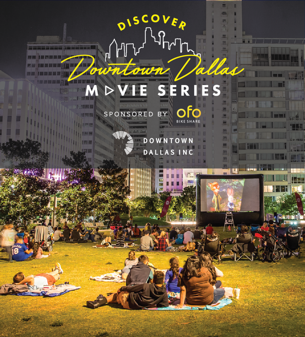 Downtown Dallas Movie Series at Dallas Farmers Market - Catch a FREE movie under the stars at the Dallas Farmers Market. Come early and grab a bite at The Market. Bring lawn chairs or a blanket.