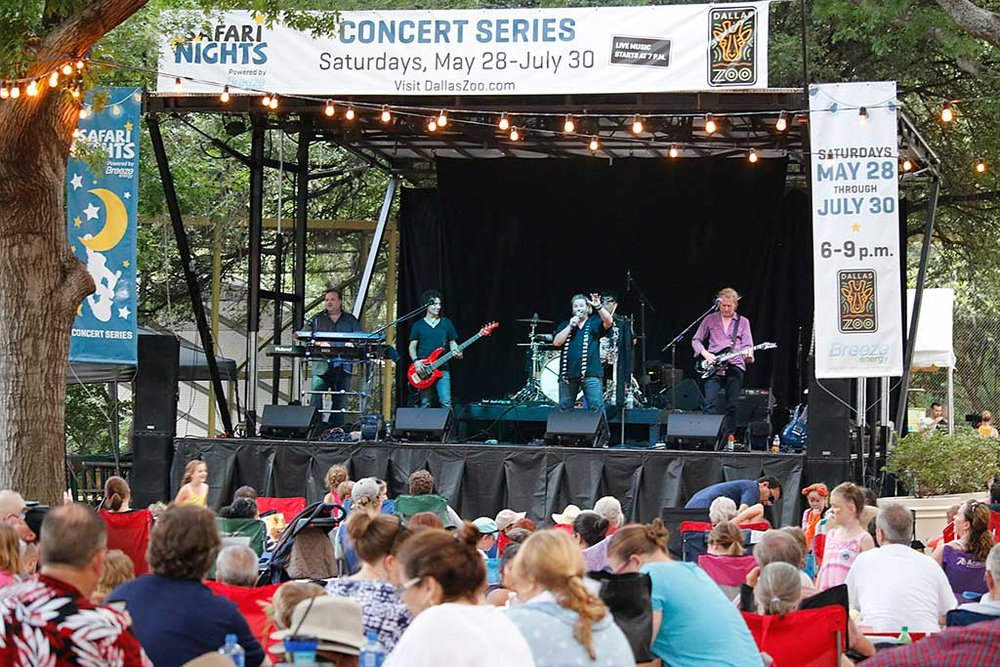 Safari Nights Concert Series at the Dallas Zoo -
