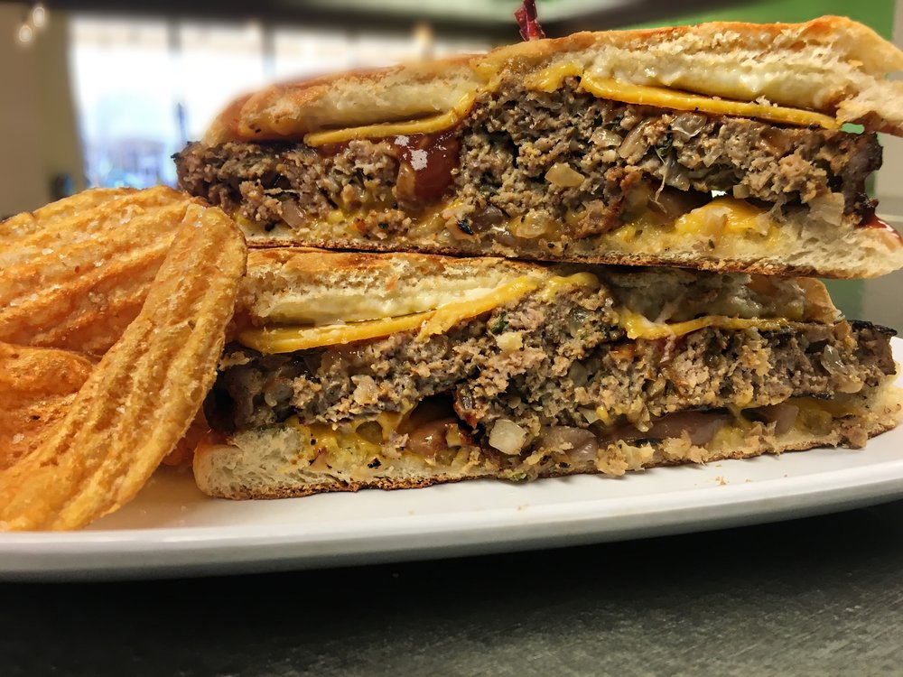 Grilled Meatloaf Panini