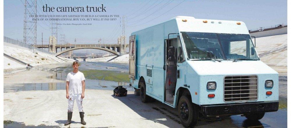 Ian Ruhter camera truck