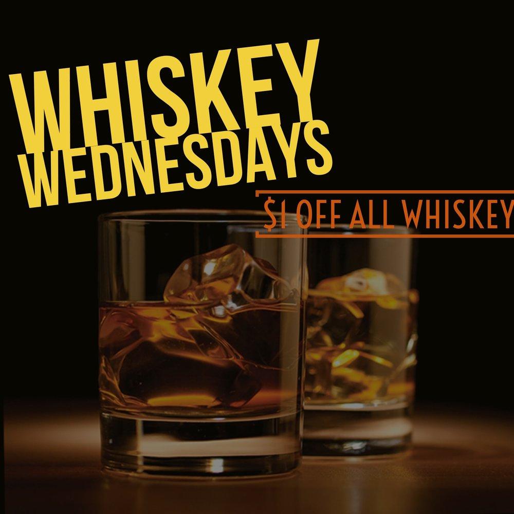 Whiskey Wednesdays -