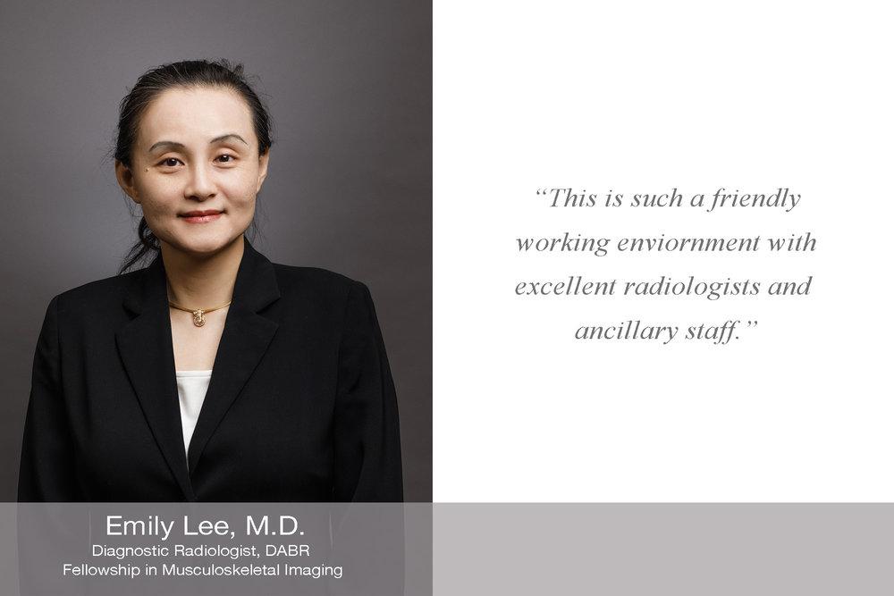 Emily Lee M.D.