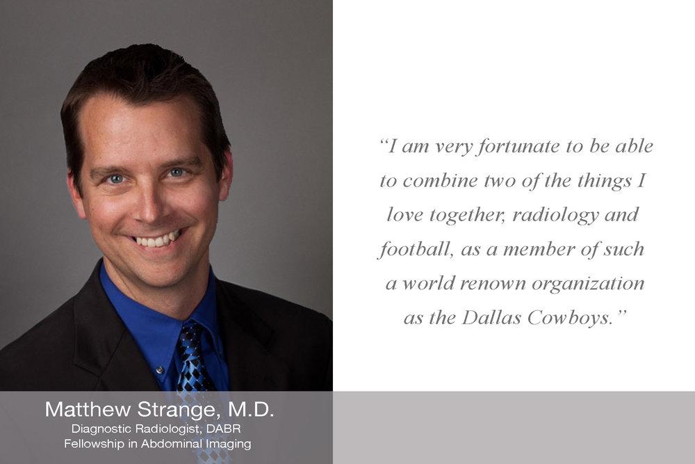Matthew Strange M.D.