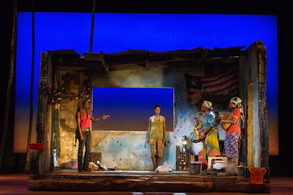 Eclipsed (Curran Theatre) | Scenic Designer: Clint Ramos