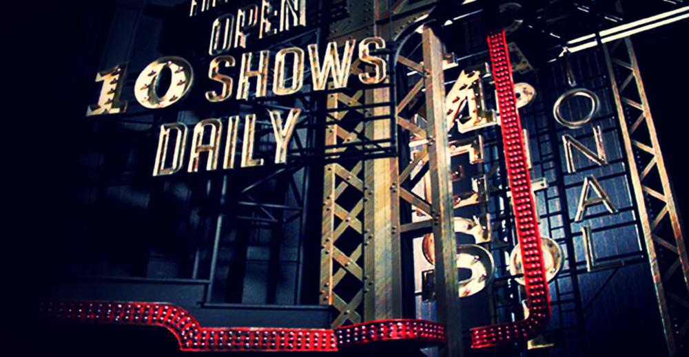 "Guys & Dolls, Broadway (Nederlander Theatre), 1/2"" Scale Model | Set Designer: Robert Brill"