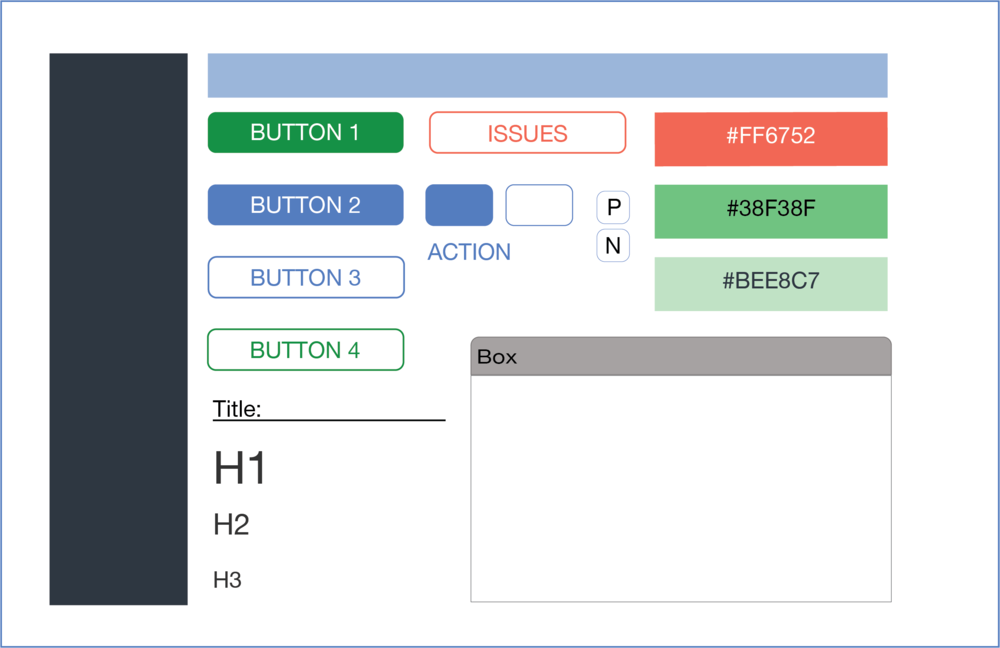 New and improved design system