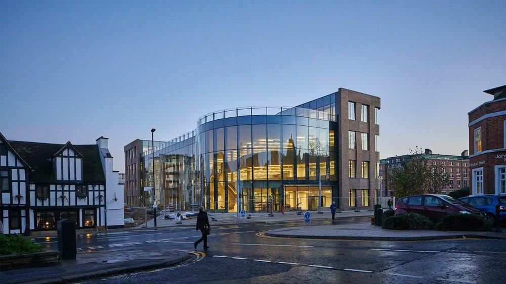 hiscox building - York, UK