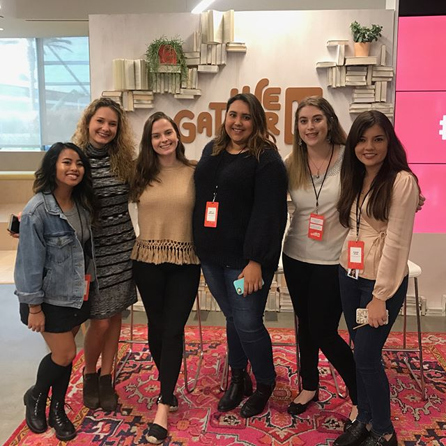 Just some boss ladies doing boss things at the #wegatherla event! Still feeling inspired and energized after those seriously life changing panels 💜