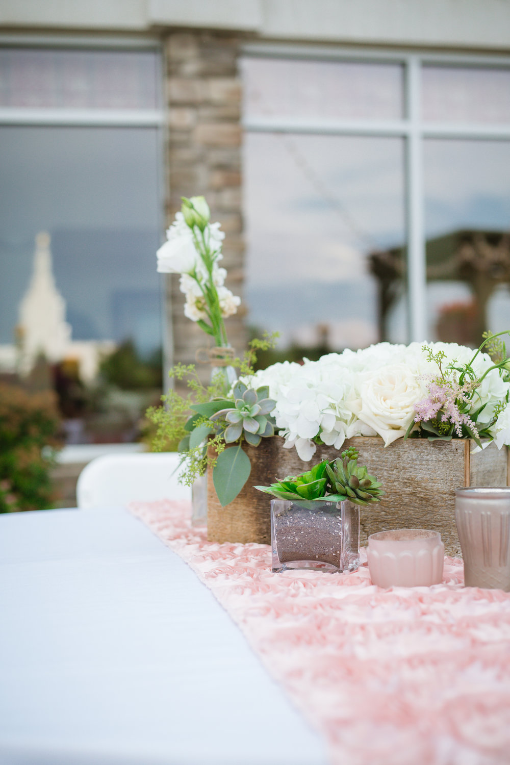 Courtney Volksen Photography | Idaho Falls lds temple reception at the Marriott