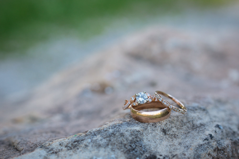 Courtney Volksen Photography | classic ring shot in Idaho Falls
