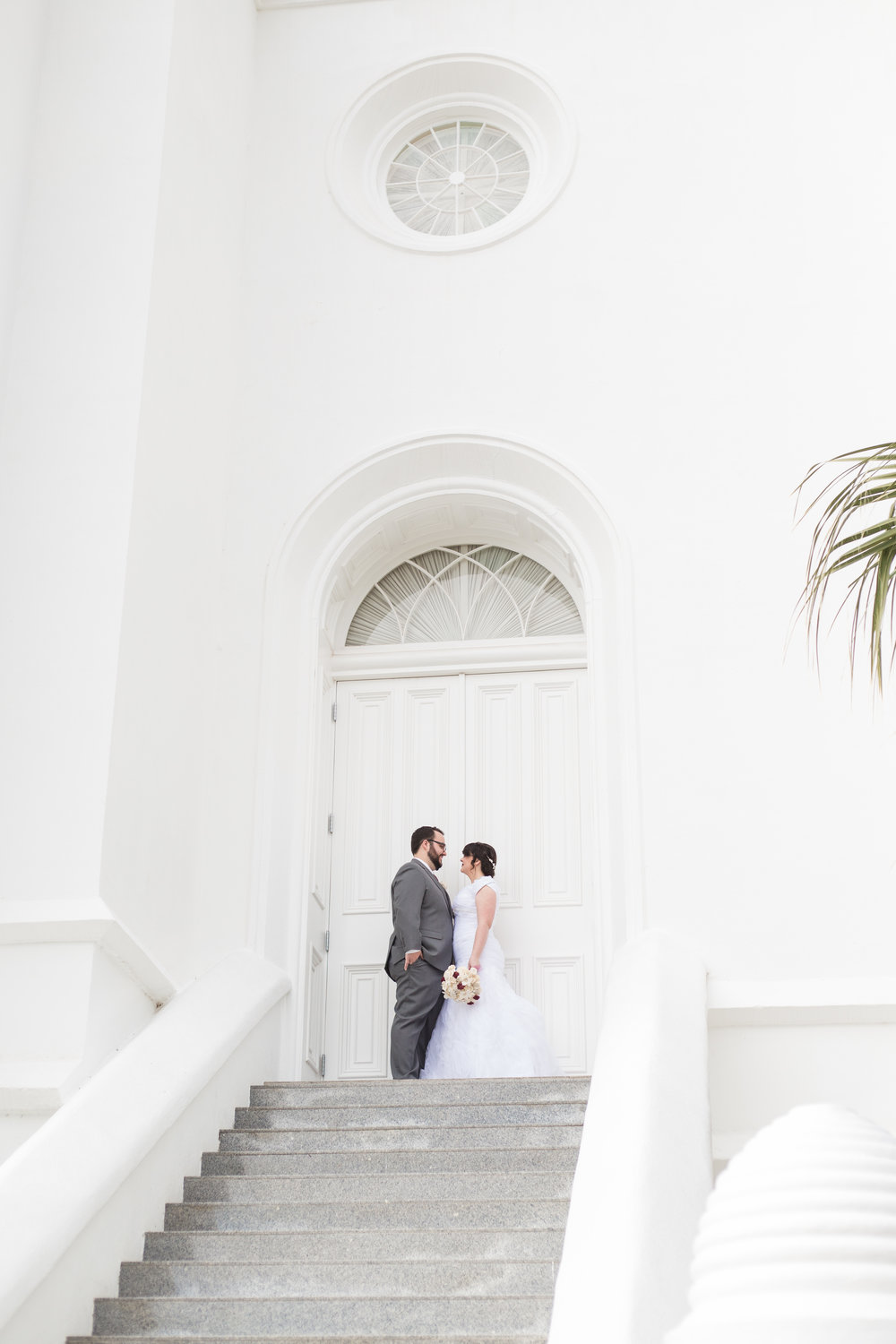 Courtney Volksen Photography | Winter Wedding in St. George Utah at the LDS Temple
