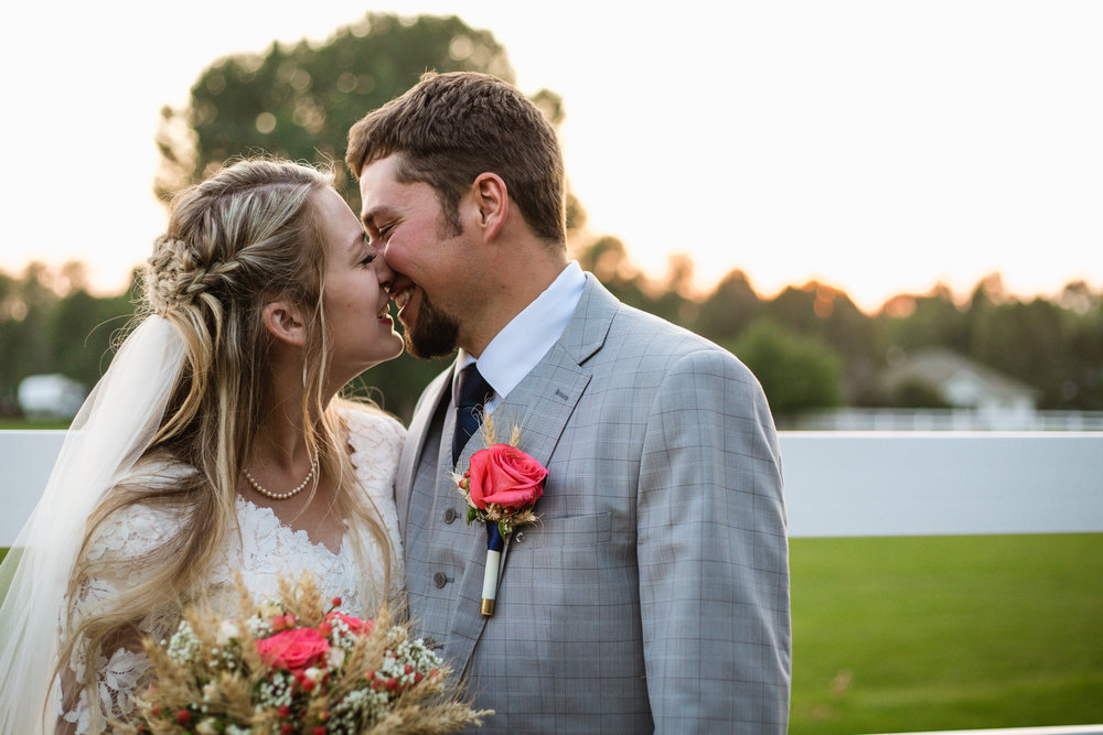 Courtney Volksen Photography | Idaho Falls bridal & wedding photographer at a  country wedding