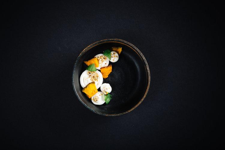 Stuffed Cipollini Onions | Thai Basil | Amaranth