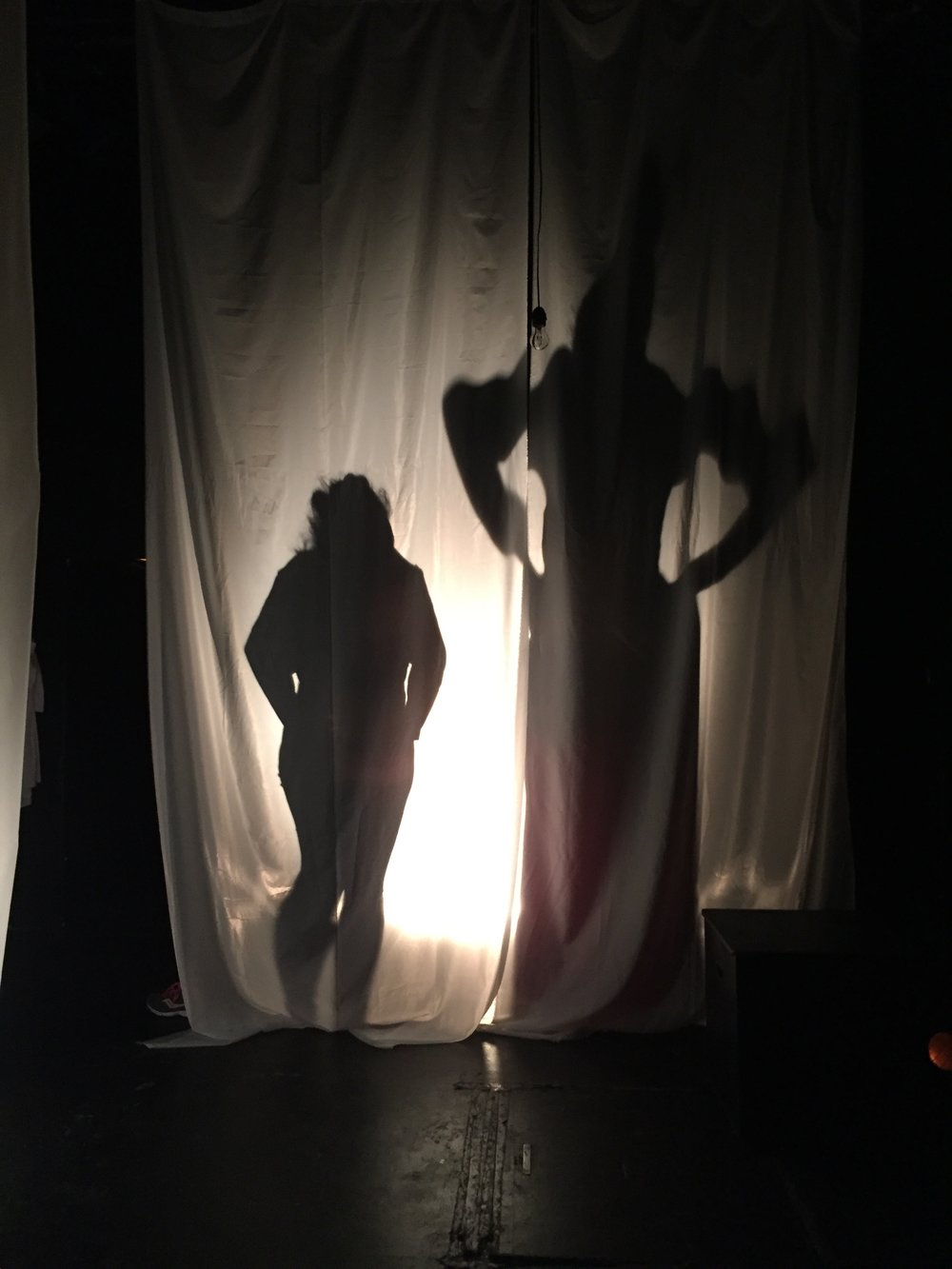 #curtain #silhouettes #test #davidandgoliath