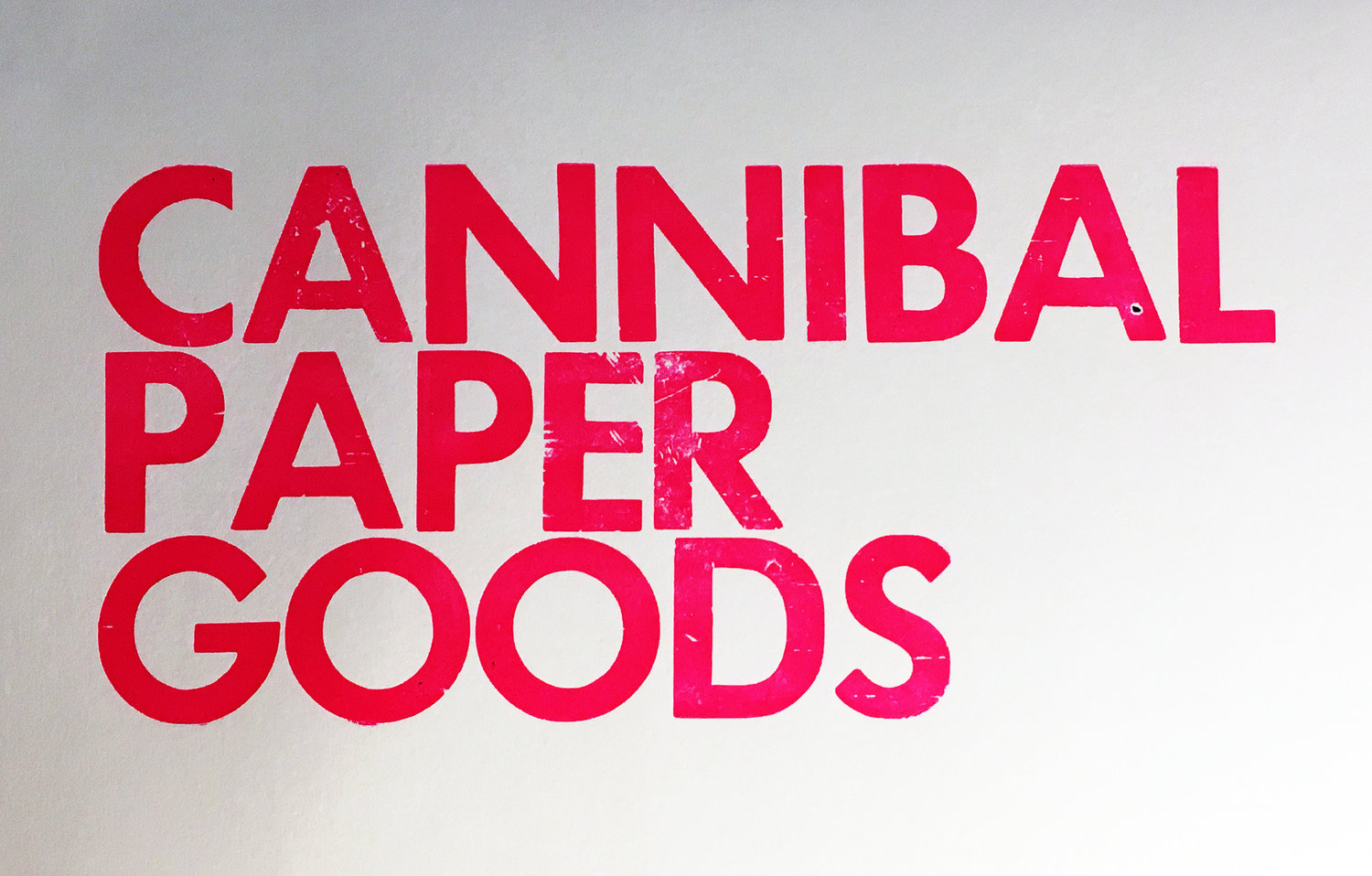 Cannibal Paper Goods