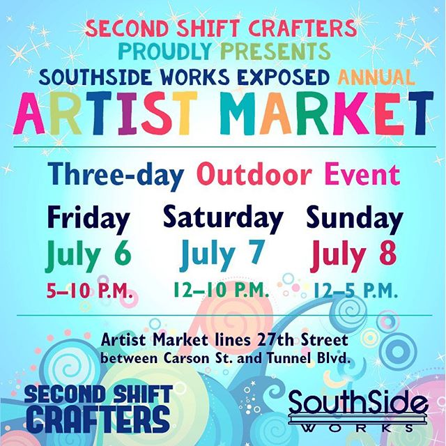 Come see us this weekend at @southsideworks! ☀️☀️☀️