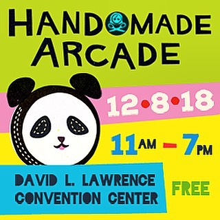 So grateful to be headed back to @handmadearcade once again! 💛 Mark your calendars, because this is THE show of the year!
