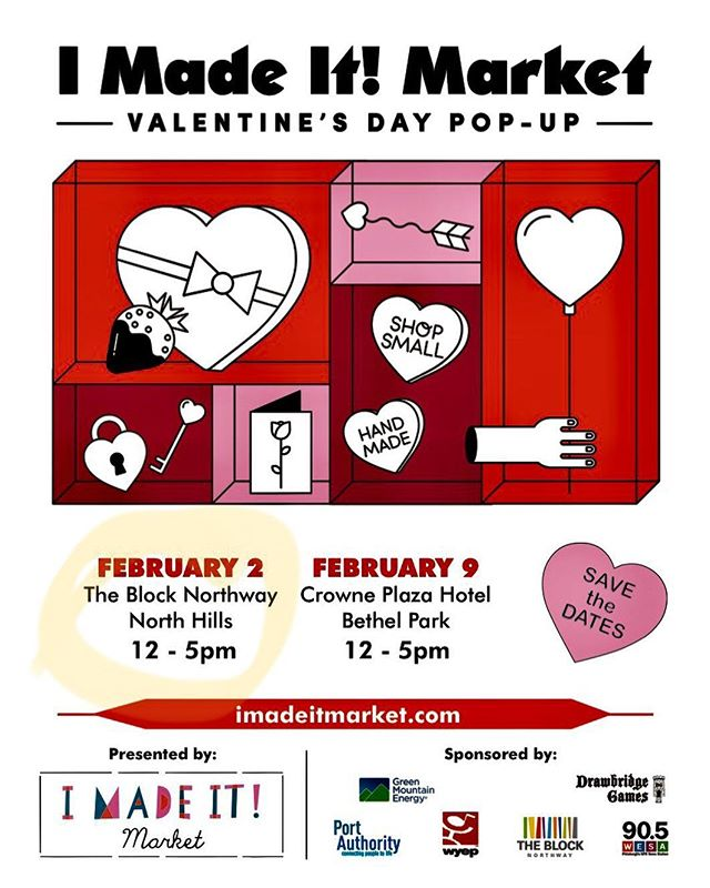 Delighted to be going back to @blocknorthway with @imadeitmarket! Hope to see you there on February 2nd! 💗💘💝
