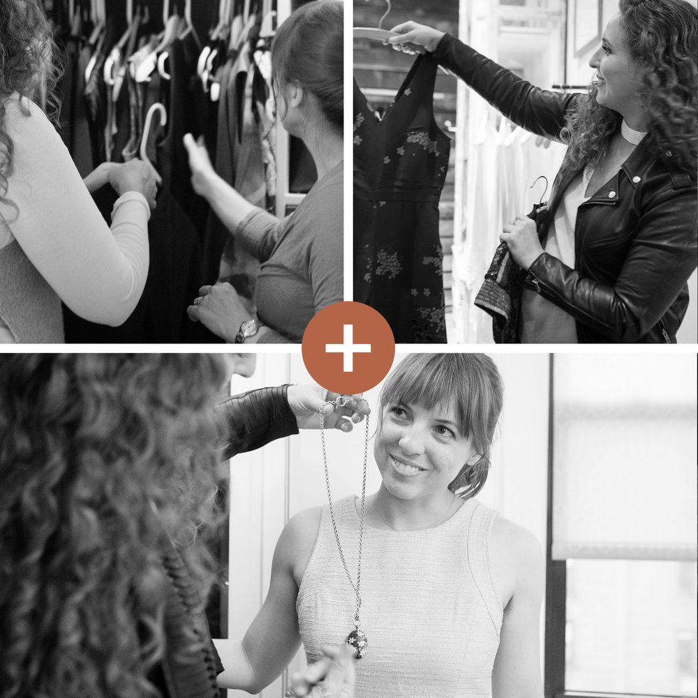 Copper Style Program - Our premier program is style at scale. By partnering with your coach for at least 3 months, you'll get a 360˚ wardrobe makeover for a whole new you.Includes Sort + Shop + Style and much much more!