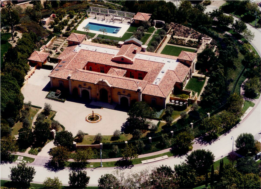 ITALIAN COUNTRY ESTATE, BEVERLY HILLS