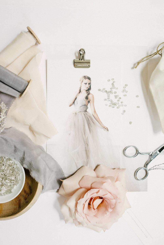 Custom Bridal Accessory Process- Alice & Mae Bridal