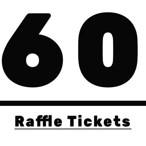 60 raffle ticket package