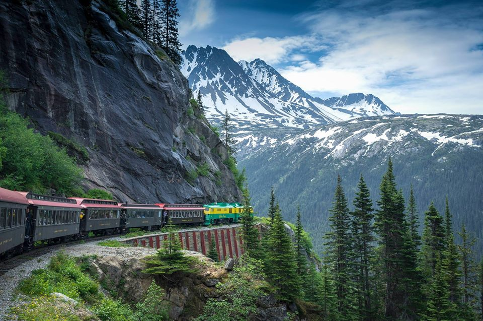 Via  White Pass Railroad