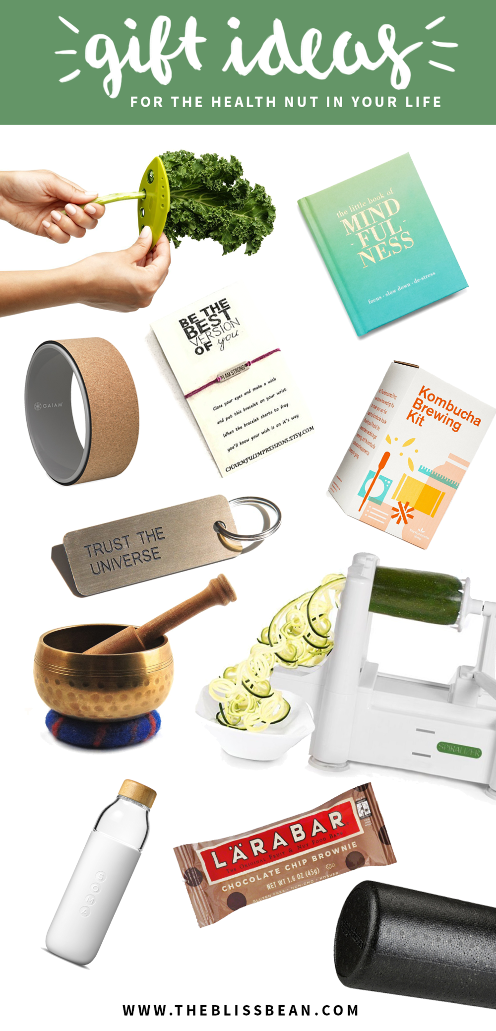 Main Collage - Gift Ideas for a Health Nut.png