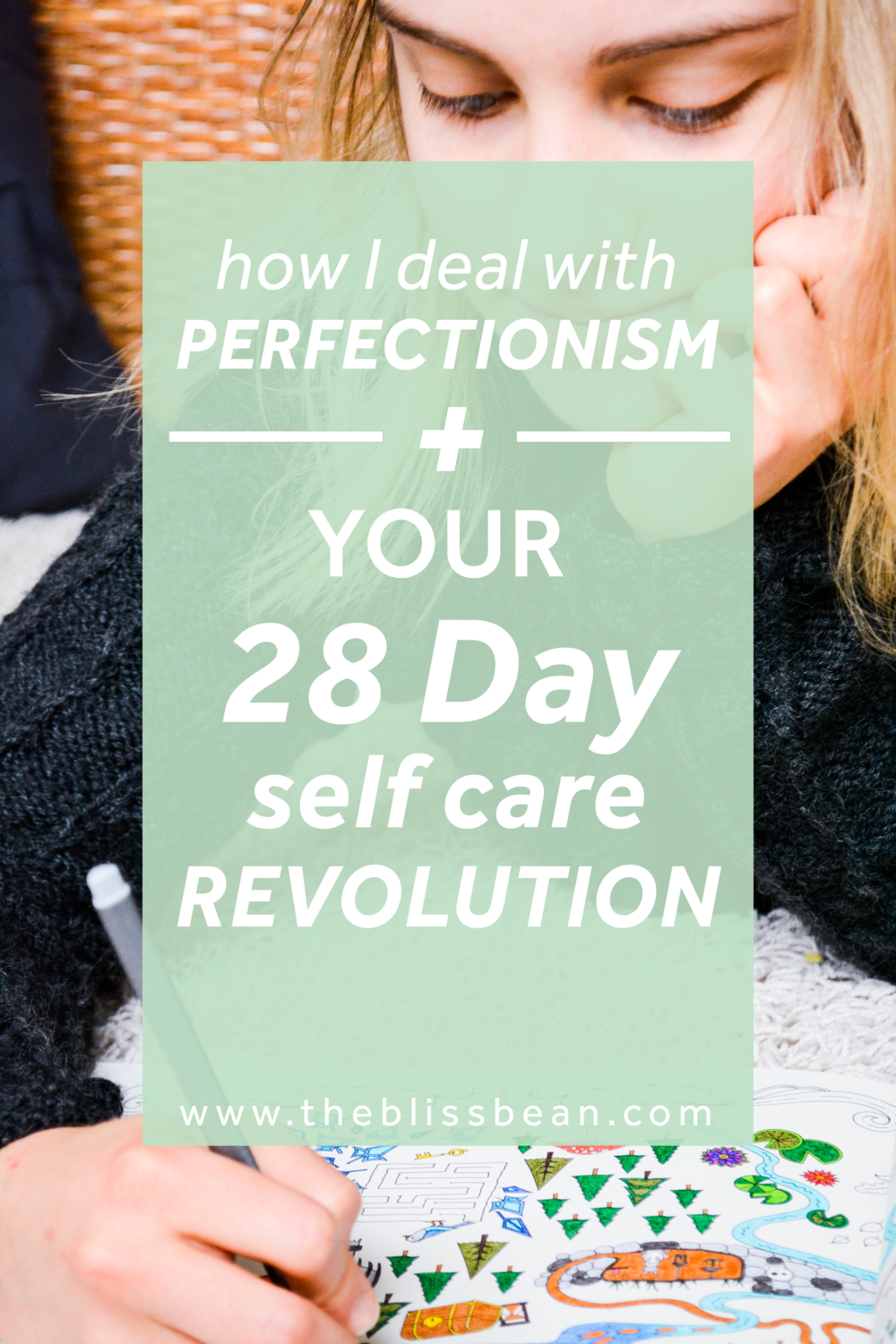 28 Day Self Care Challenge Revolution Cover Image The Bliss Bean.png