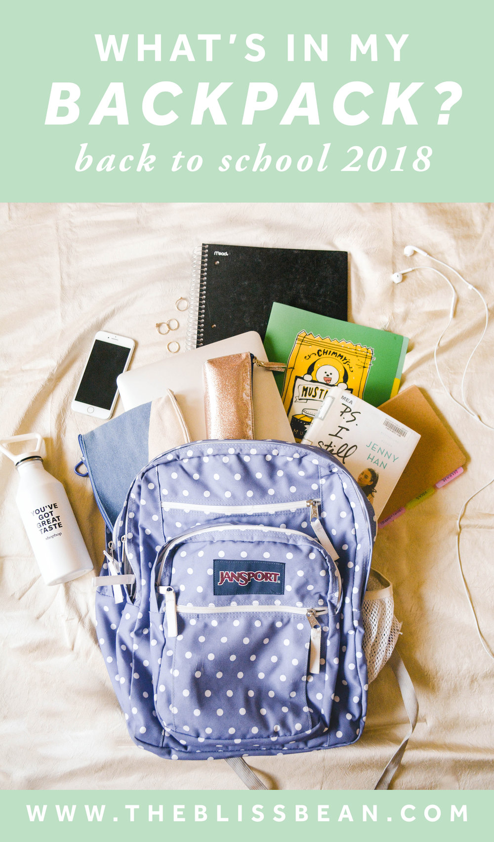 0 - Cover Image - What's in My Backpack Back to School 2018 (1 of 21).jpg