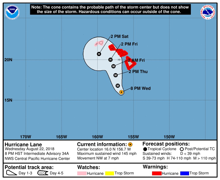 Source:  Central Pacific Hurricane Center