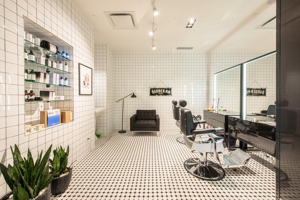 Frank + Oak Barbershop - WEM