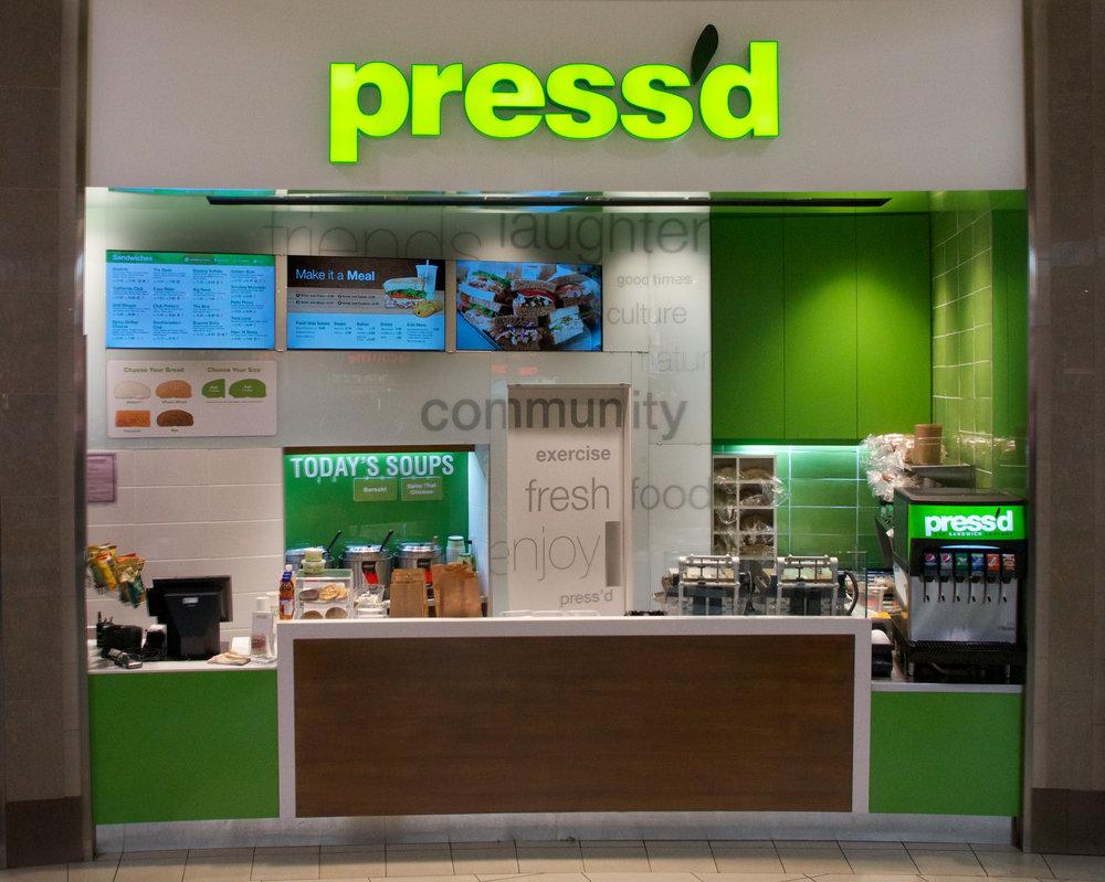 Press'd