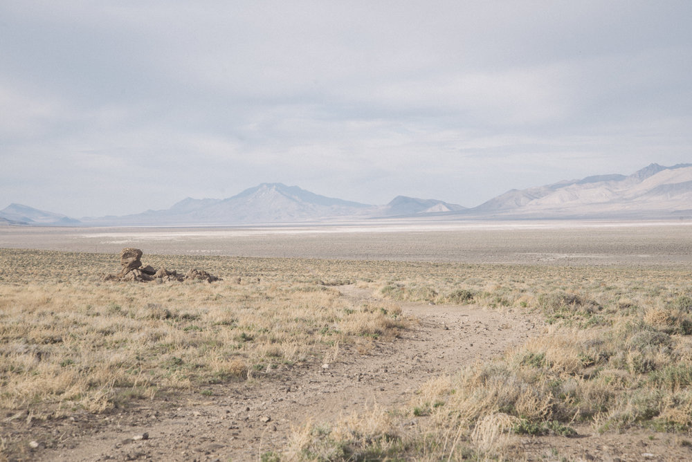 Black Rock desert, Nevada.