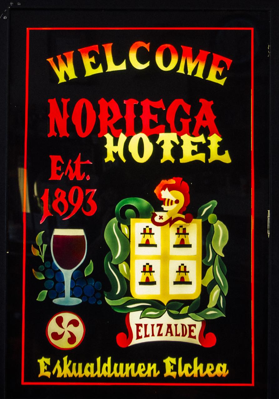 Noriega Hotel, Bakersfield, California.
