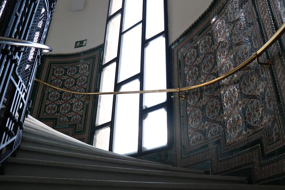 Escaleras Cibeles