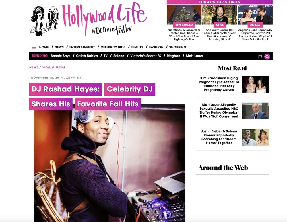 Hollywood Life Rashad Hayes Feature