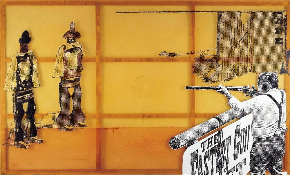 Sigmar Polke | The Fastest Gun in the West | Acquisition (Private Collection)