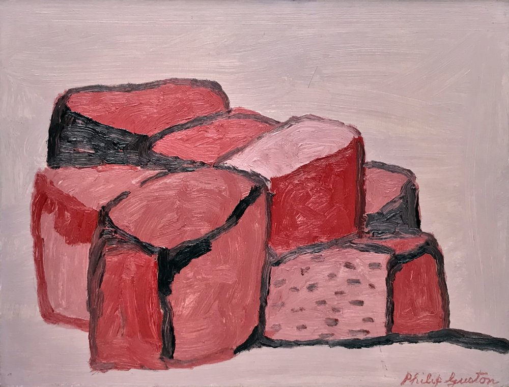 Philip Guston | Rocks | Private Collection