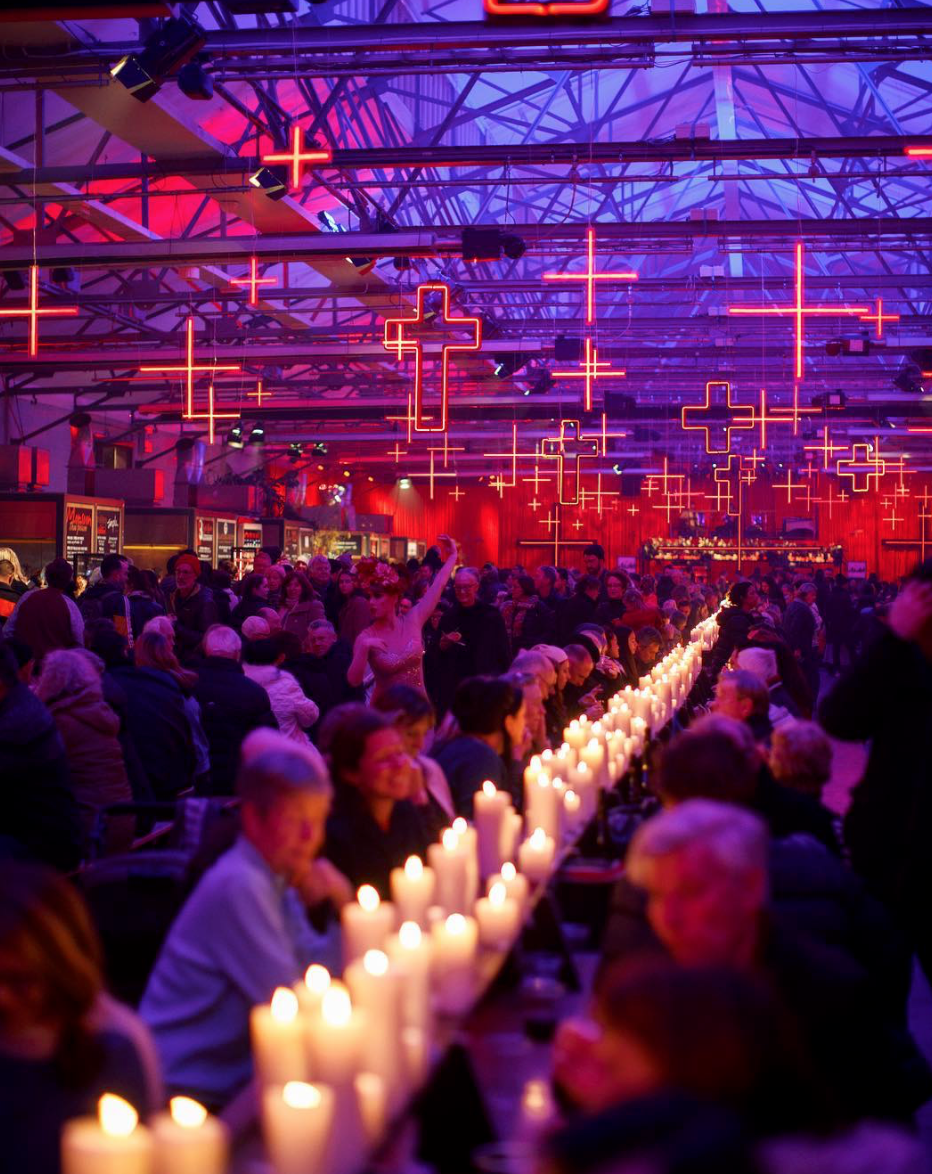 The festivities at the Winter Feast, photo credit: The City of Hobart and MoNA