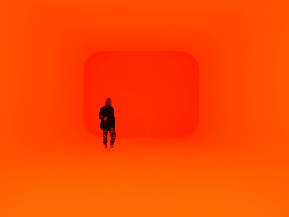 James Turrell,  Event Horizon,  2017. photo credit: Jesse Hunniford and MoNA