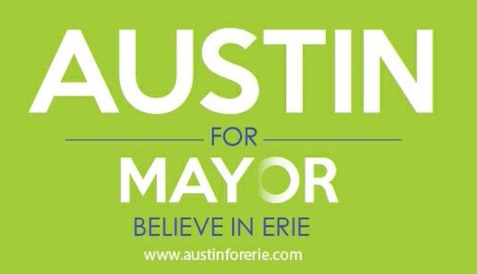 2017 Campaign for Mayor   http://www.austinforerie.com/home-old/