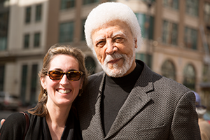 Filmmaker with Ron Dellums