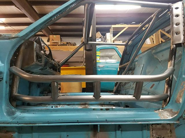 The door bars and dash bar coming along and rear harness bar next . . . #skin #bones #skinandbones #skinandbones #skinandbonesfab #fabrication #welding #porsche #porsche914 #cage #rollcage #tigwelding #gussets #custom #rollcage