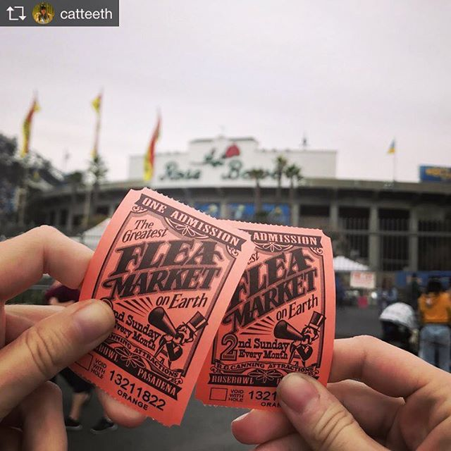 Did you know the @rosebowl_fleamarket started in 1968? They will be celebrating their 50th anniversary in 2018! Don't miss out on the ultimate treasure hunt on the second Sunday of every month! 📷: @catteeth . . . . . . . . . . . #tuesdaytip #rosebowlfleamarket #tuesdaytrivia #rosebowl #arroyoseco #fleamarket #treasurehunt #didyouknow