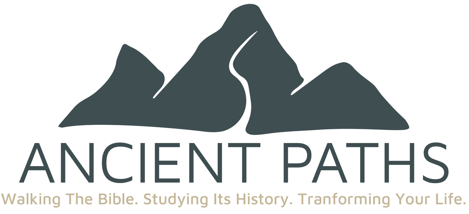 Ancient Paths Study Tours