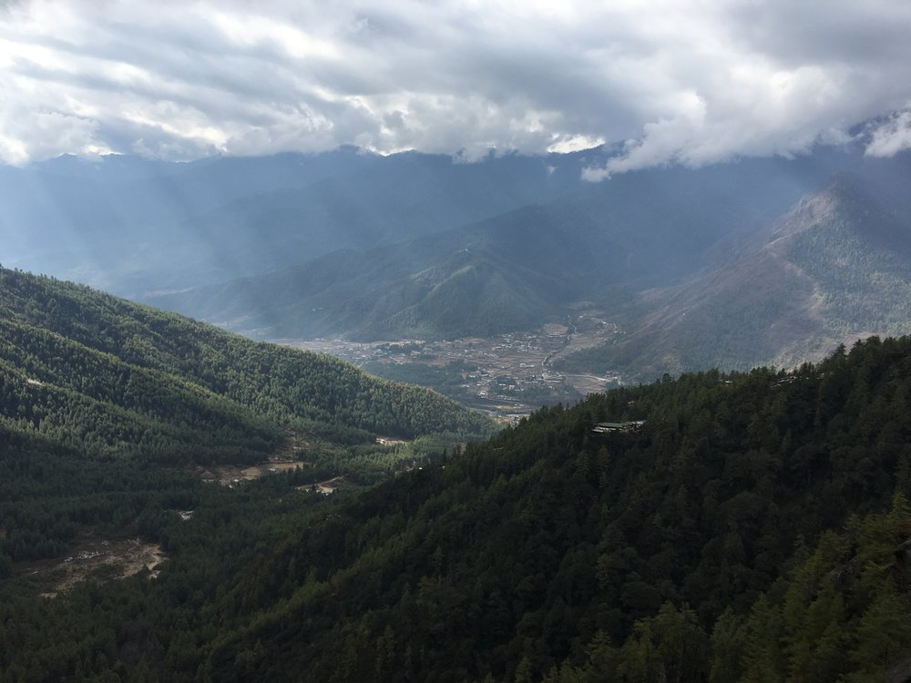 View of Punakha