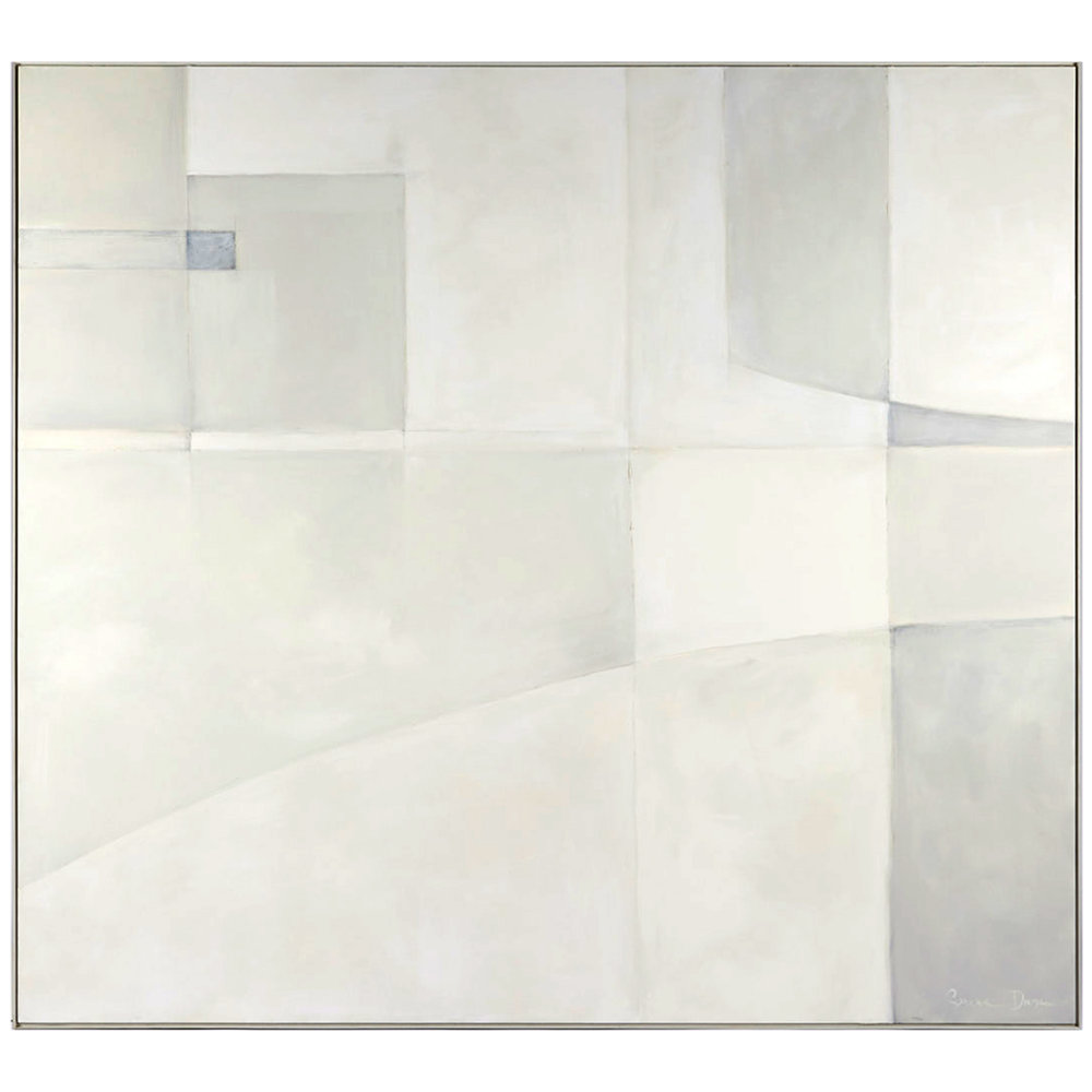 "WHITE OUT II, 84.75"" x 76.75"""