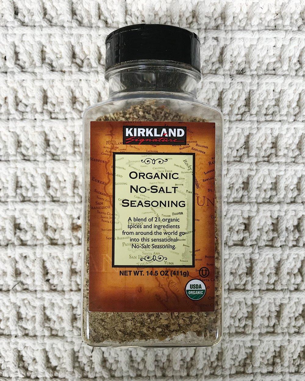 6. All Purpose/No-Salt Seasoning -